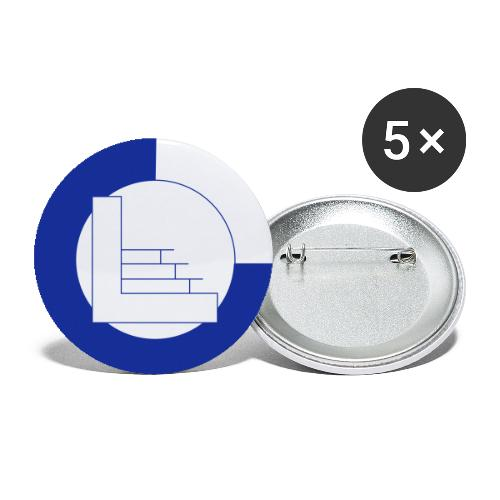 CvL Logo - Buttons klein 25 mm (5-pack)