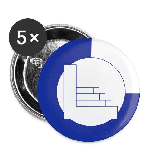 CvL Logo - Buttons klein 25 mm