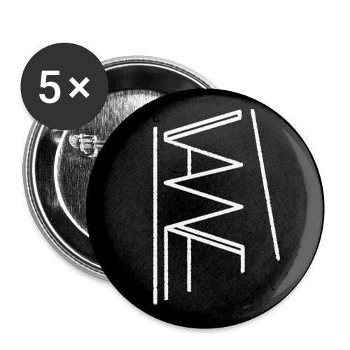 Objets VANNE - Lot de 5 petits badges (25 mm)