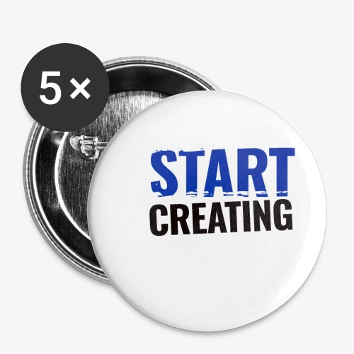 #STARTCREATING - Buttons small 25 mm