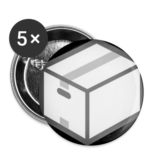 Collection The Box édition Silver - Badge petit 25 mm