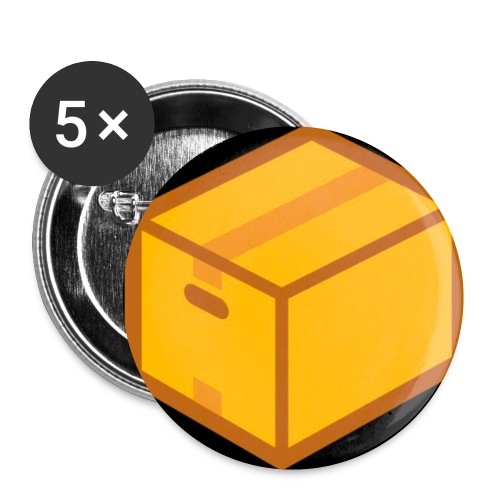Collection The Box édition Gold - Badge petit 25 mm
