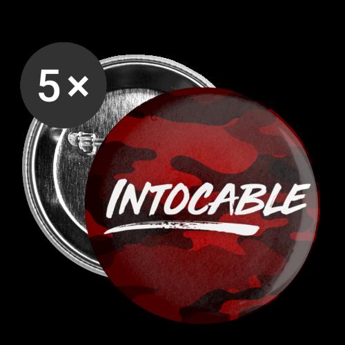 chapas intocable - Chapa pequeña 25 mm