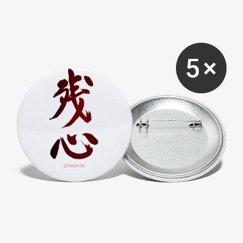 ZANCHIN TEE SHIRT - Lot de 5 petits badges (25 mm)