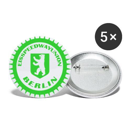 Logo klein ESU transp Green - Buttons klein 25 mm (5er Pack)