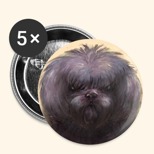 Dog Button - Små knappar 25 mm (5-pack)