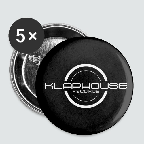 Klaphouse Records - Buttons small 1''/25 mm (5-pack)