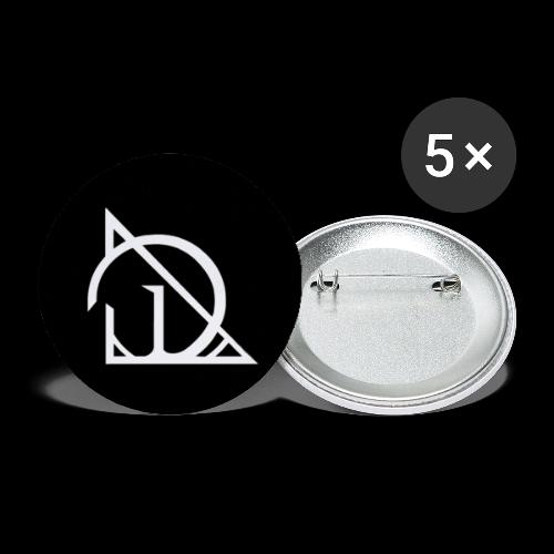 Dimhall The D - Buttons small 1''/25 mm (5-pack)