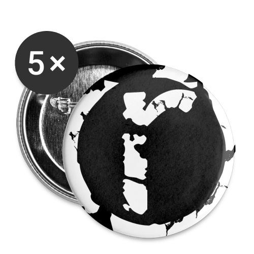 rockloader Logo - Buttons klein 25 mm (5er Pack)