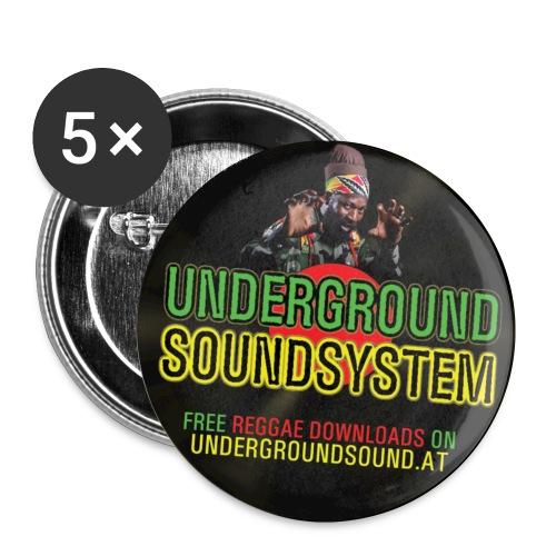 sticker - Buttons klein 25 mm (5er Pack)
