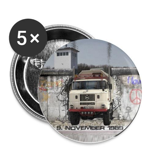 Grenzöffnung - IFA LKW W50 - Buttons klein 25 mm (5er Pack)