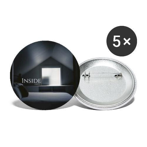 Inside Album - Buttons small 1''/25 mm (5-pack)