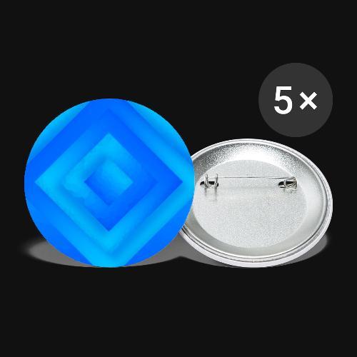 Water Diamond - Buttons klein 25 mm (5er Pack)