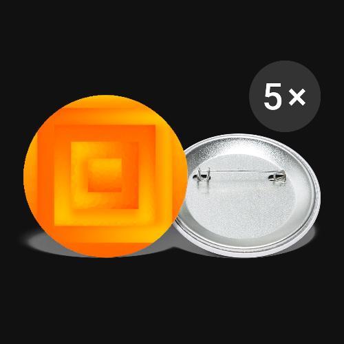 Sun Cube - Buttons klein 25 mm (5er Pack)
