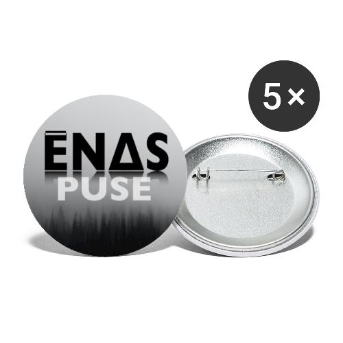 Ēnas Puse Logo - Buttons small 1''/25 mm (5-pack)