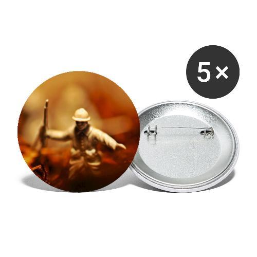 The Field - Små knappar 25 mm (5-pack)