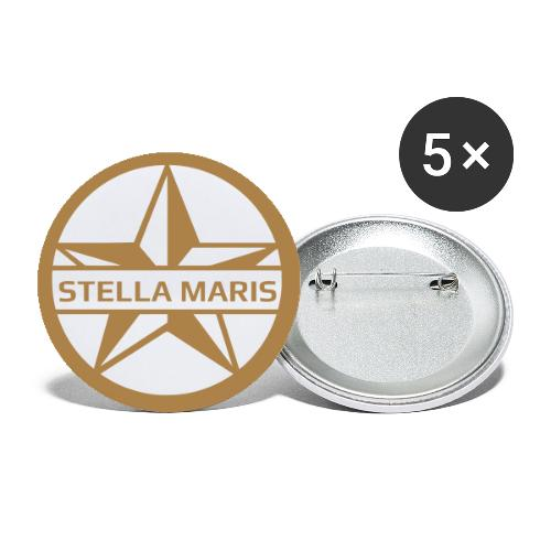 STELLA MARIS - Buttons small 1''/25 mm (5-pack)