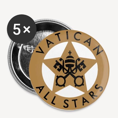 VATICAN ALLSTARS - Buttons small 1''/25 mm (5-pack)