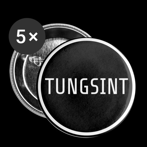 Tungsint Circle Logo - Små knappar 25 mm (5-pack)