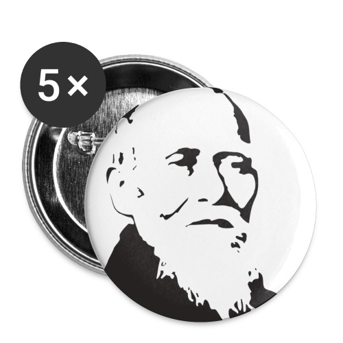 ueshiba - Confezione da 5 spille piccole (25 mm)