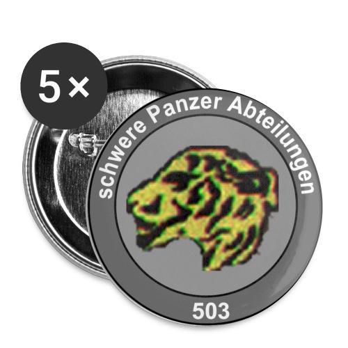 emblecami - Paquete de 5 chapas pequeñas (25 mm)