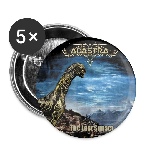 adastra with logo shirt - Rintamerkit pienet 25 mm (5kpl pakkauksessa)