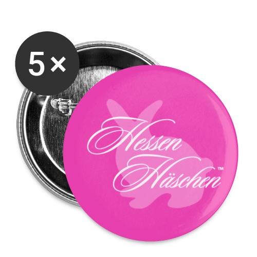 Hessen Häschen 25mm Button - Buttons klein 25 mm (5er Pack)