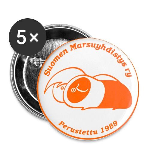 smylogoorngpix - Rintamerkit pienet 25 mm (5kpl pakkauksessa)