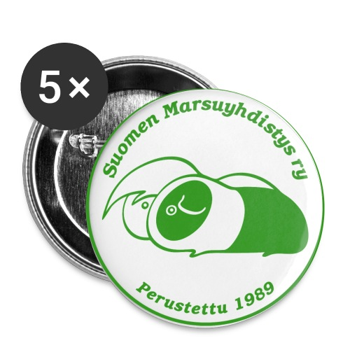 smylogogreenpix - Rintamerkit pienet 25 mm (5kpl pakkauksessa)