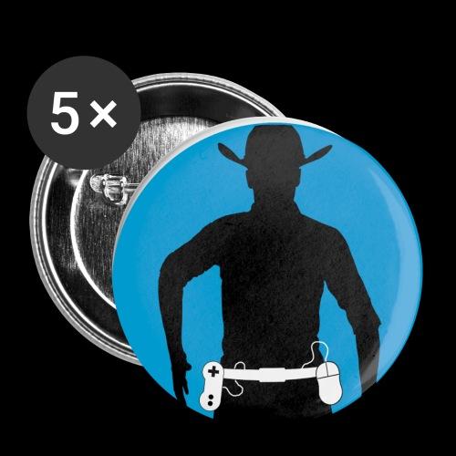 McRalph Gaming Logo 1 Cir - Buttons klein 25 mm (5er Pack)