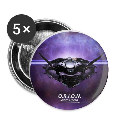Eos - Buttons klein 25 mm (5er Pack)
