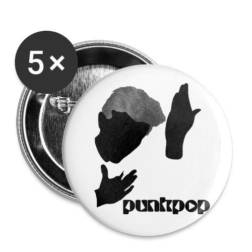 Heroes Punkpop Black - Confezione da 5 spille piccole (25 mm)