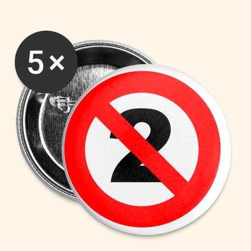 Nondualism - Buttons klein 25 mm