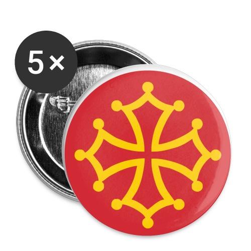 ocpin - Confezione da 5 spille piccole (25 mm)