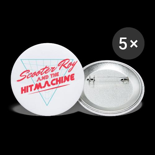 ScooterRoy and the Hitmachine - Buttons klein 25 mm (5-pack)