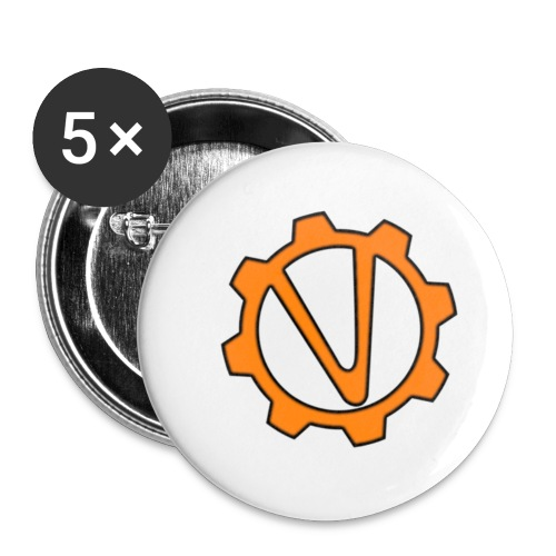 Geek Vault Merchandise - Buttons small 1''/25 mm (5-pack)
