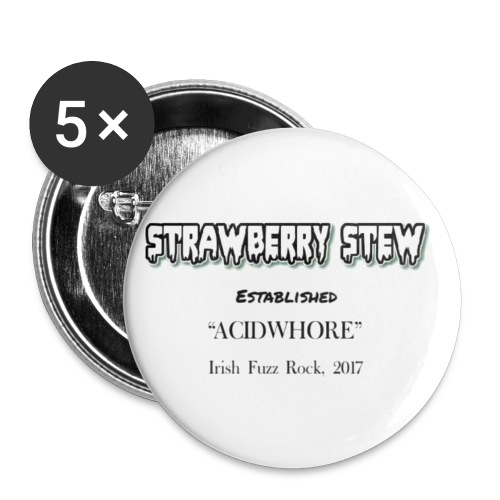 Strawberry Stew // OG - Buttons small 1''/25 mm (5-pack)