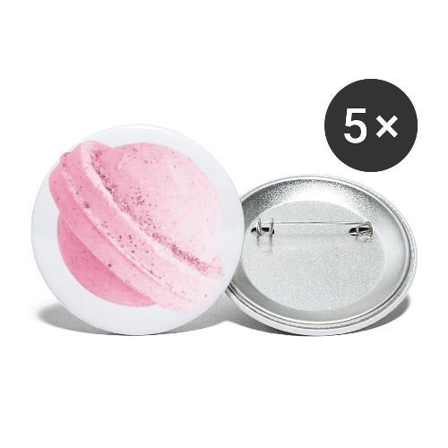 Saturboom pill of LSD - Paquete de 5 chapas pequeñas (25 mm)