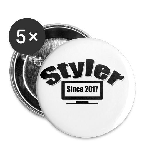 Styler Designer - Buttons klein 25 mm (5-pack)