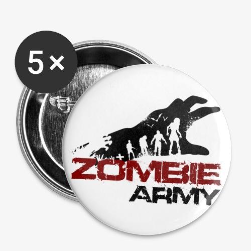 ZA transparent - Buttons klein 25 mm (5er Pack)