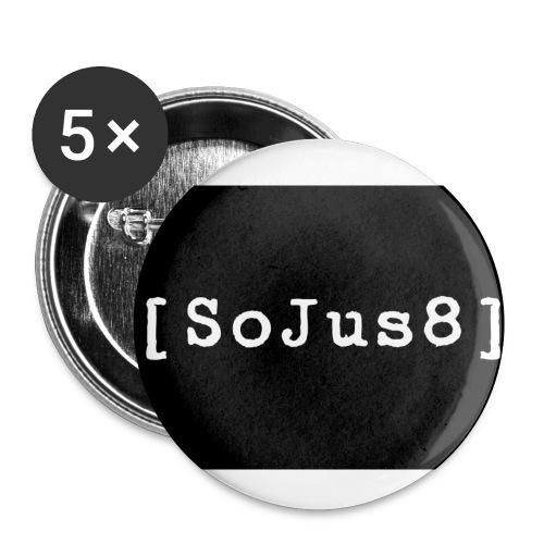 sojus8 secret service - Buttons klein 25 mm (5er Pack)