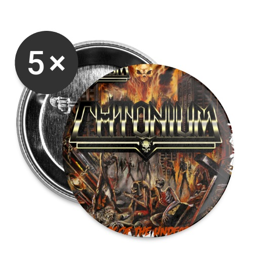 eldskugg2 - Buttons small 1''/25 mm (5-pack)