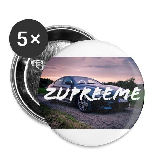 zupreeme - Små knappar 25 mm (5-pack)