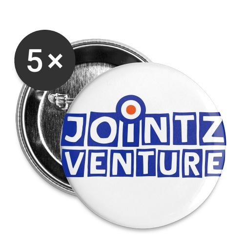 jointz_venture 1side - Buttons klein 25 mm (5er Pack)