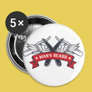 Angel Man's Beard - Badge petit 25 mm