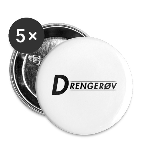 Drenerøv acc - Buttons/Badges lille, 25 mm