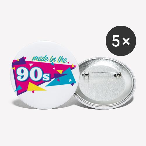 Made in the 90s - Buttons klein 25 mm (5er Pack)