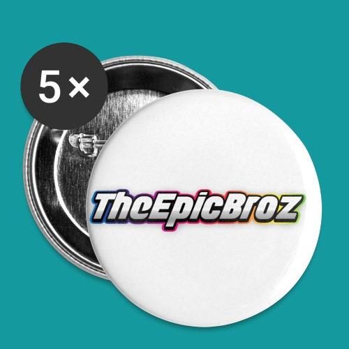 TheEpicBroz - Buttons klein 25 mm (5-pack)
