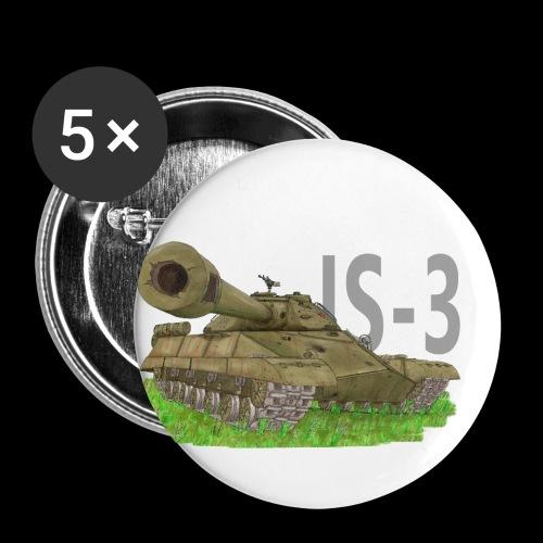IS-3 (Writing) - Confezione da 5 spille piccole (25 mm)