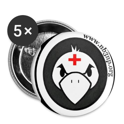 photo JPG - Lot de 5 petits badges (25 mm)